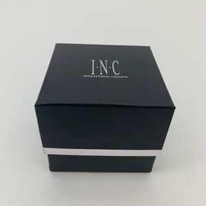 INC International Concepts Jewelry - 4/$25 2 Silver-Tone Flower Bangle Bracelet Set NEW